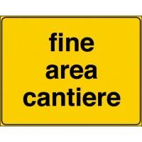 Fine area cantiere