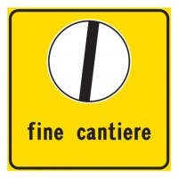 Fine cantiere