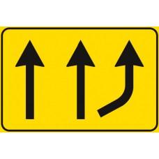 Variazione di corsie disponibili