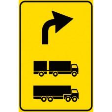 Preavviso deviazione autocarri consigliata