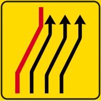 Segnale di corsie chiuse