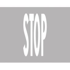 Iscrizione di STOP per strade extraurbane