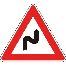 Doppia curva, la prima a destra