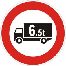 Transito vietato ai veicoli di massa a pieno carico superiore a… tonnellate