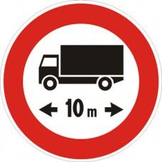 Transito vietato ai veicoli, o complessi di veicoli, aventi lunghezza superiore a… metri