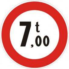 Transito vietato ai veicoli aventi massa superiore a… tonnellate