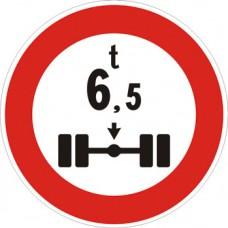 Transito vietato ai veicoli aventi massa per asse superiore a… tonnellate
