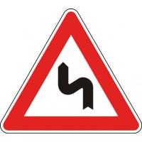 Doppia curva, la prima a sinistra
