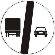 Fine del divieto di sorpasso per i veicoli di massa a pieno carico superiore a 3,5 tonnellate