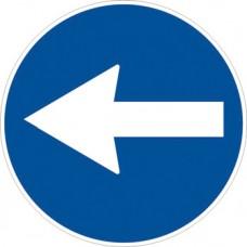 Direzione obbligatoria a sinistra