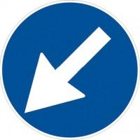 Passaggio obbligatorio a sinistra o a destra