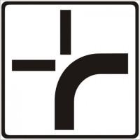 Andamento della strada principale